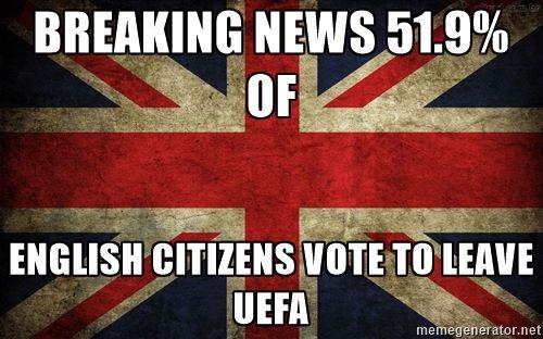 Leave UEFA