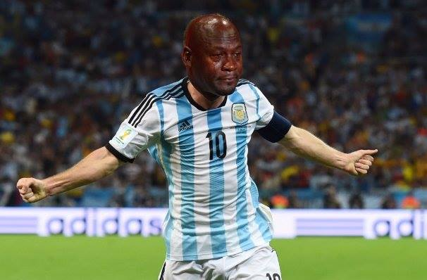 Messi Crying Jordan