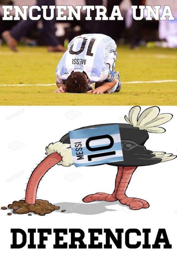 Messi OStrich