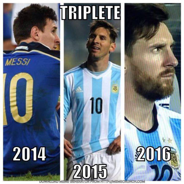 Messi Treble