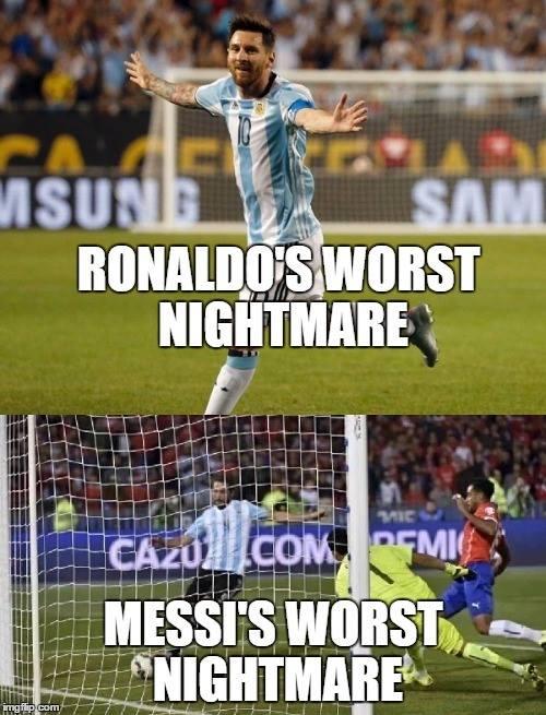 Messi's Higuain Nightmare