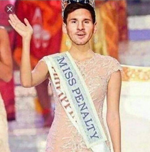 Miss Penalty Messi