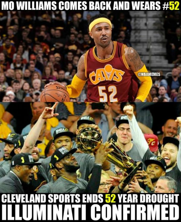 Mo Williams Illuminati