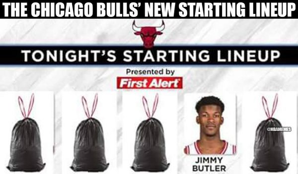 New Bulls Lineup