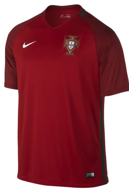 Portugal Euro 2016 Jersey