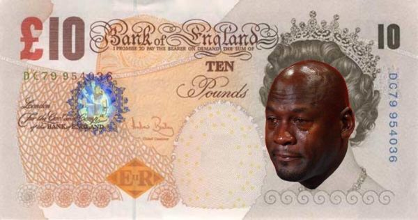 Queen Crying Jordan