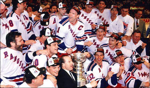 Rangers 1994 Stanley Cup