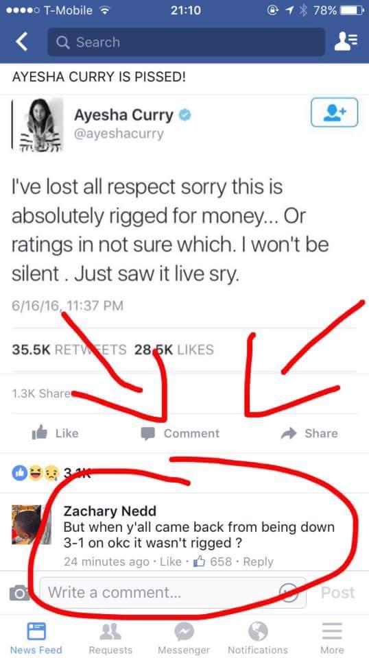 Response to Ayesha