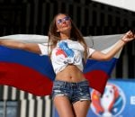Russian fan hot