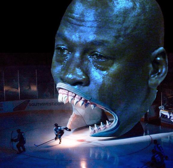 Sharks Huge Jordan Head