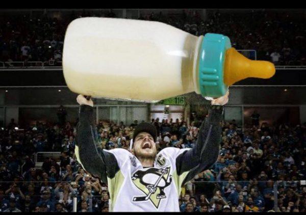 Sidney Crosby Bottle