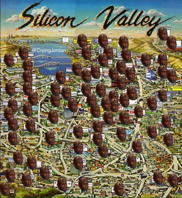 Silicon Valley Crying Jordan