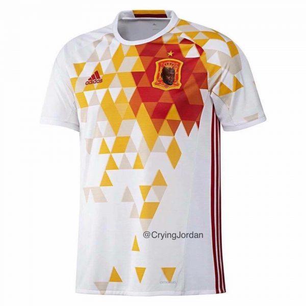 Spain Crying Jordan Crest