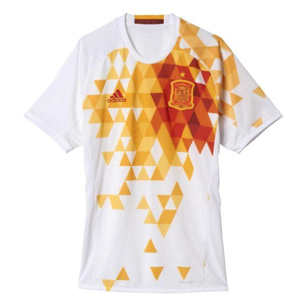 Spain Euro 2016 Away Jersey