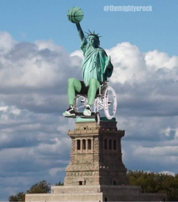 Statue of Liberty Wheelchair
