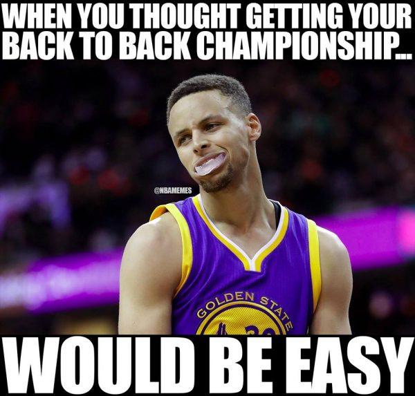 Stephen Curry Losing Meme
