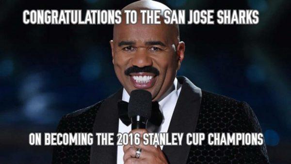 Steve Harvey Stanley Cup