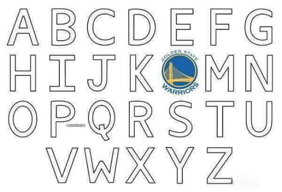 Warriors Alphabet