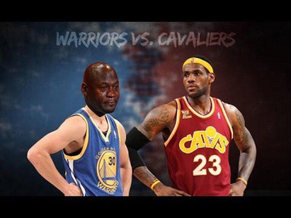 Warriors Cavs