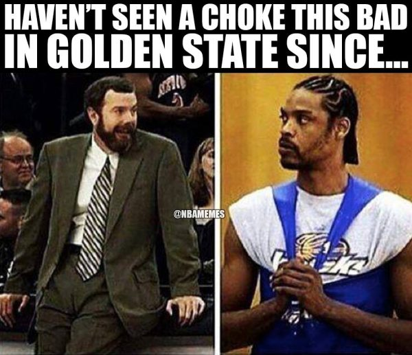 Warriors Choke Job