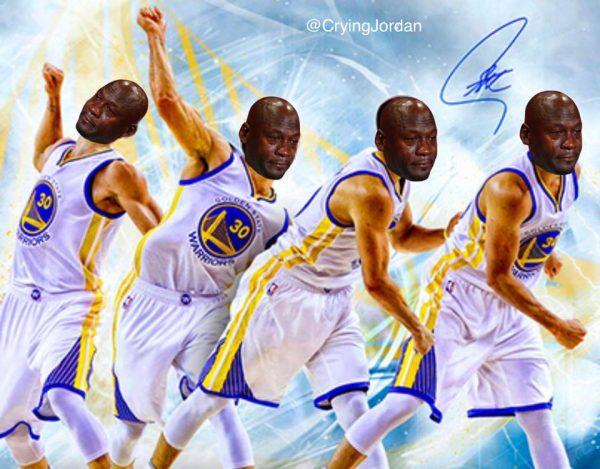 Warriors Crying JOrdan
