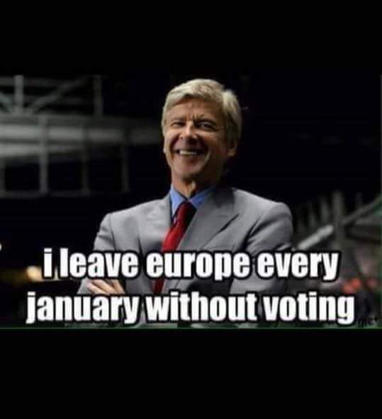 Wenger Euro exit