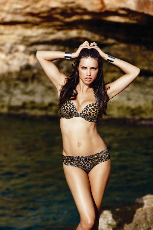 Adriana Lima Leopard