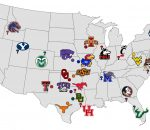 Big 12 Future Map
