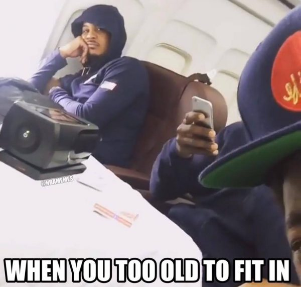 Carmelo Anthony Too Old for this shit