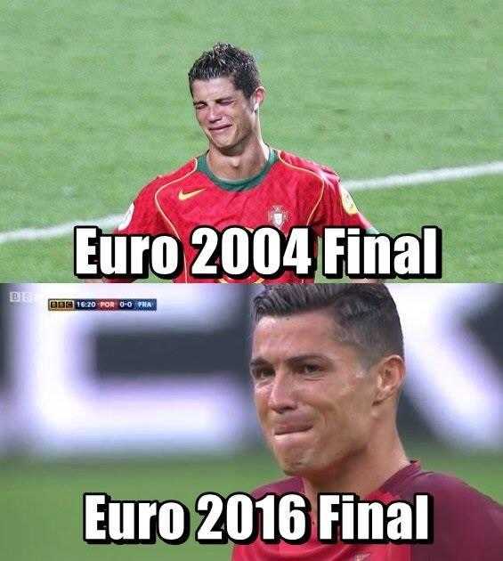 Crying Ronaldo