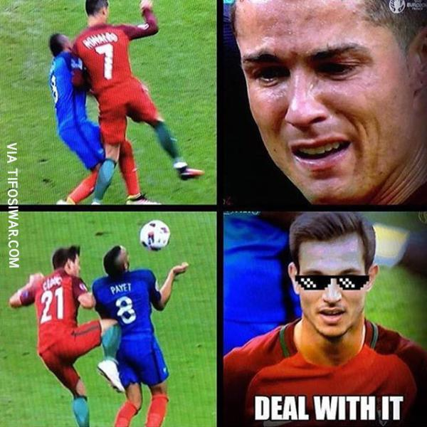 Deal with it Ronaldo Cedric