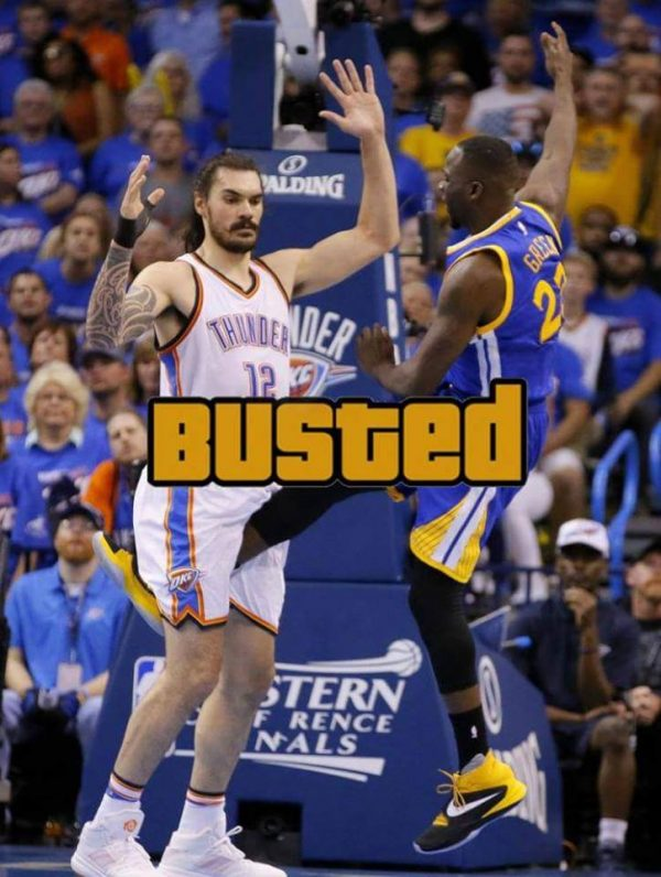 Draymond Green Busted