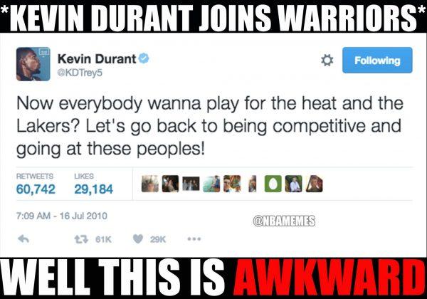 Durant old tweet