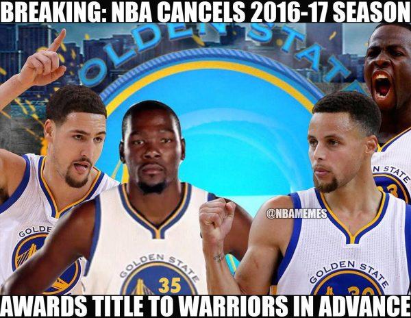 NBA season cancelled