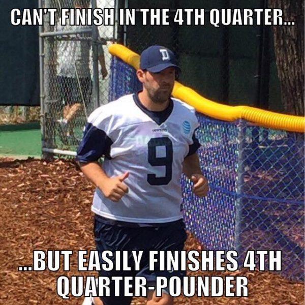 Romo Quarter Pounder