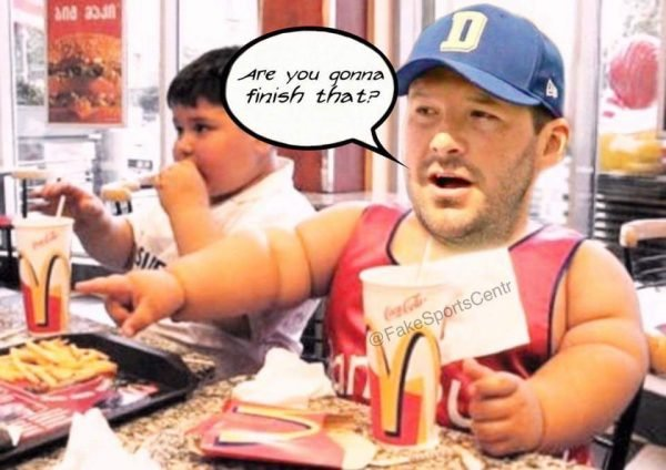 Romo at the McDonalds