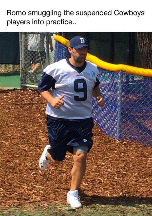 Romo smuggling