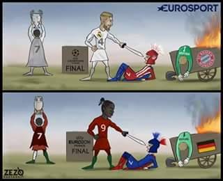 Ronaldo taking credit