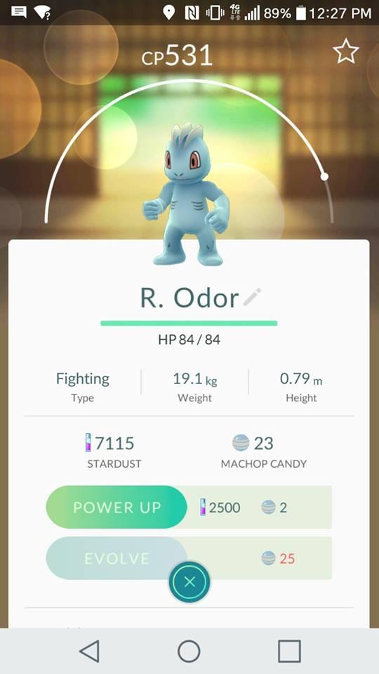 Rougned Odor Pokemon Go