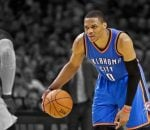 Russell Westbrook on his own