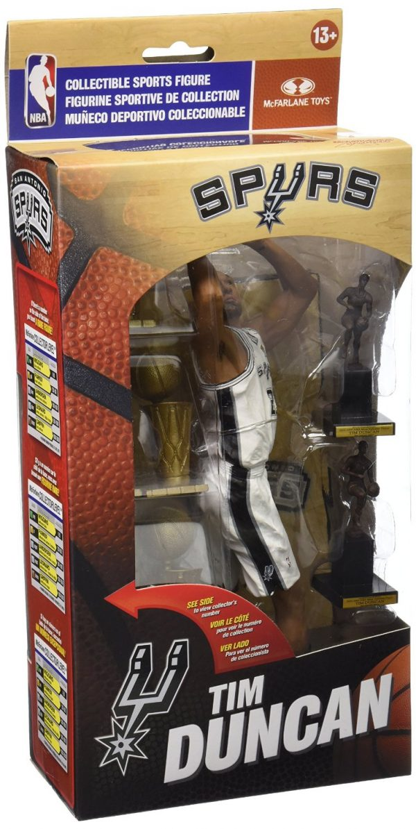 Tim Duncan Collectible Box Figure