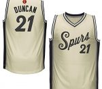 Tim Duncan & Spurs Christmas Day Jersey