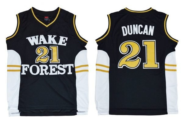 Tim Duncan Wake Forest Jersey