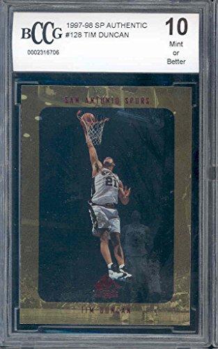 Tim Duncan rookie card