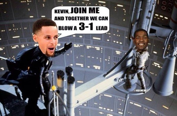 Warriors Star Wars Meme