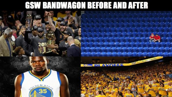 Warriors bandwagon back on