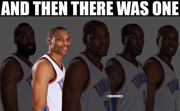 Westbrook alone