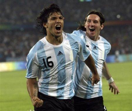 Aguero, Messi, Olympics