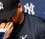 Alex Rodriguez Crying