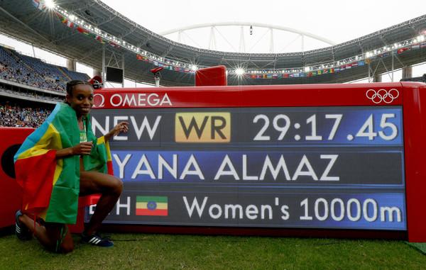 Almaz Ayana World Record